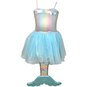 Iridescent Sequin Mermaid Dress - Size 3/4