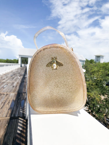 Jelly Bee Crossbody - Gold