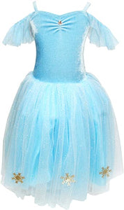 Snow Princess Snowflake Dress - Size 3/4