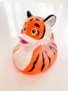 Tiger Rubber Duck