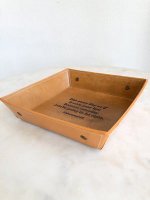 Leather Tray - (3 Quotes)