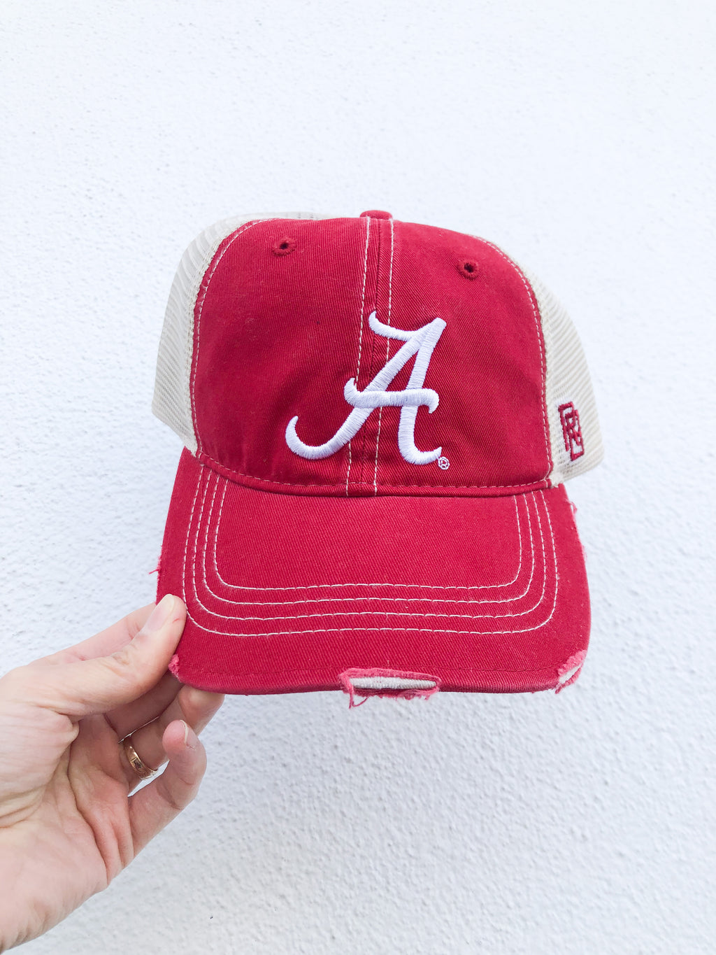 Alabama Distressed Cap