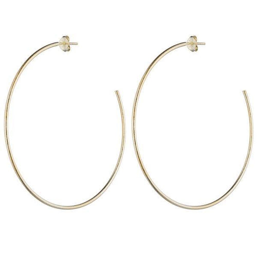 Jillian Hoops - Gold