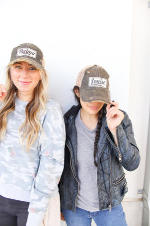 Thelma Distressed Trucker Hat