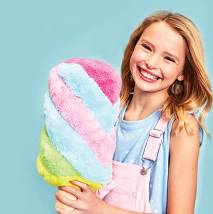 Rainbow Ice Cream Pop Scented Pillow