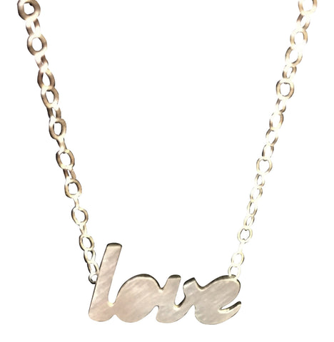 MAXLOVE + SWOON: Love Necklace