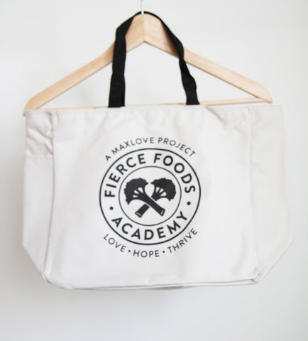 Fierce Foods Academy Tote Bag