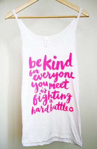 Be Kind Script Tank