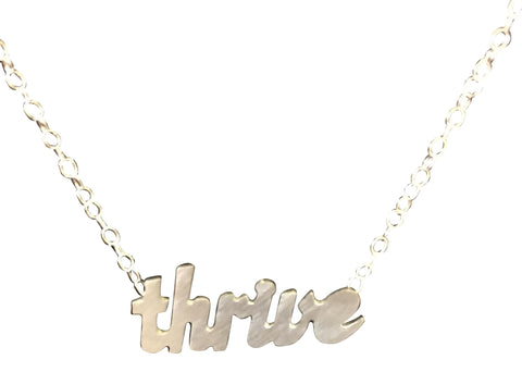 MAXLOVE + SWOON: Thrive Necklace
