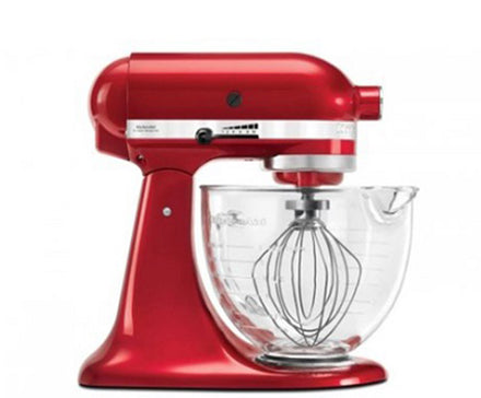 4.8L Artisan Tilt-Head Stand Mixer - Candy Apple Red Refurb KSM170