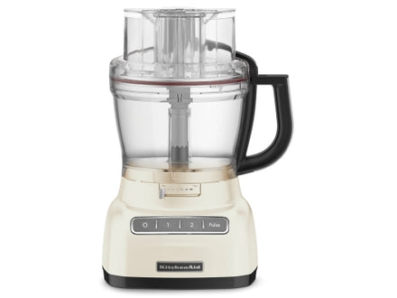 13 Cup Artisan Food Processor with ExactSlice™ System - Almond Cream Refurb KFP1333