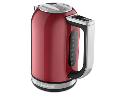 1.7L Electric Kettle with Digital Temperature Control - Red Refurb