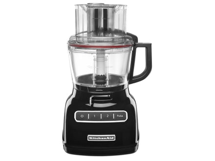 9 Cup Artisan Food Processor with ExactSlice™ System - Onyx Black Refurb KFP0933