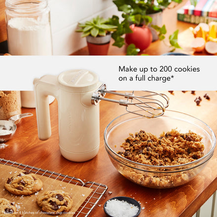 KitchenAid Cordless Hand Mixer | Almond Cream