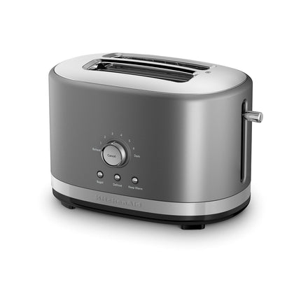 2 Slice Toaster with High Lift Lever - Contour Silver Refurb KMT2116