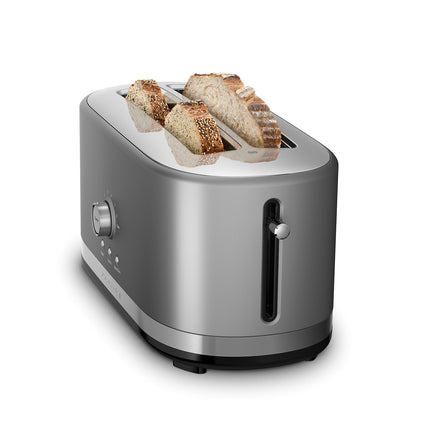 4 Slice Toaster with High Lift Lever - Silver Refurb KMT4116