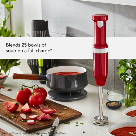 KitchenAid Hand Blender | Empire Red