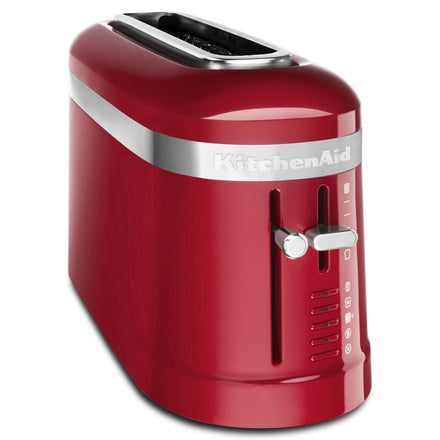 2 Slice Long Slot Toaster with High Lift Lever - Empire Red Refurb KMT3115