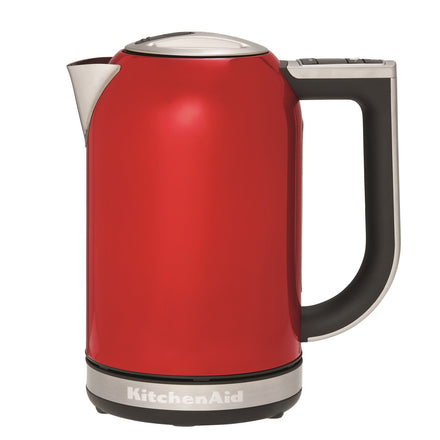 1.7L Electric Kettle with Temperature Control - Empire Red Refurb KEK1835