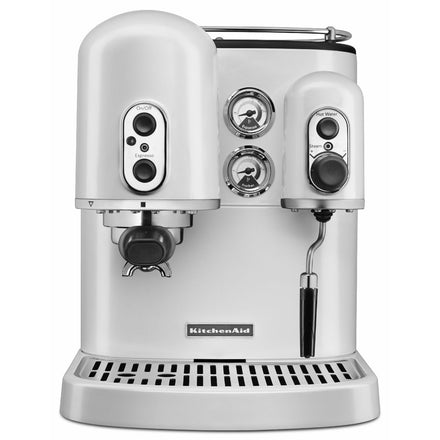 Pro Line® Series Espresso Maker with Dual Independent Boilers - Frosted Pearl Refurb KES2102