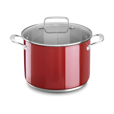 Aluminum Non-Stick 7.6L Stockpot with Lid