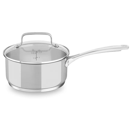 Stainless Steel 1.4L Saucepan with Lid