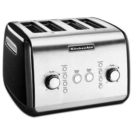4 Slice Classic Automatic Toaster - Silver Refurb KMT421