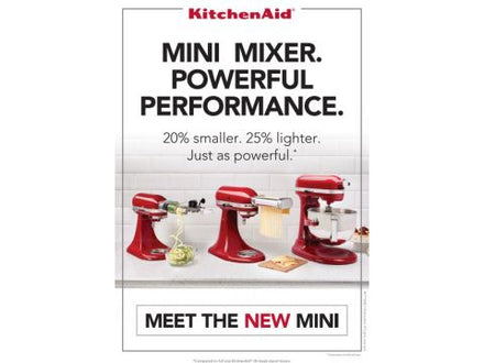 A5 Mini Mixer Stand Card 2Pack