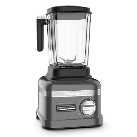 3.5HP Pro Line® Series Blender With Thermal Control Jug - Medallion Silver Refurb KSB8270