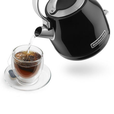 1.25L Artisan Electric Kettle with Auto Shut-Off - Onyx Black Refurb KEK1222