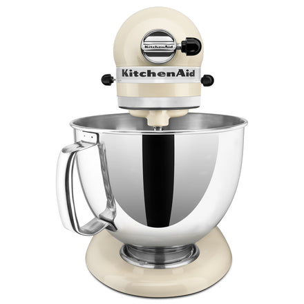 4.8L Artisan Tilt-Head Stand Mixer (Two Bowls) - Almond Cream Refurb KSM160