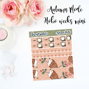 HOBONICHI Weeks Weekly Kit Mini - Autumn Mode