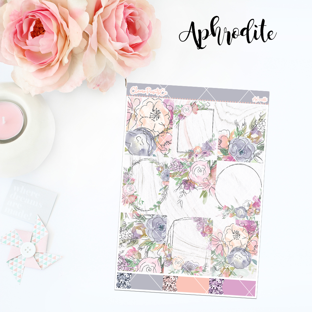 Standard Vertical Weekly Kit FULL - Aphrodite