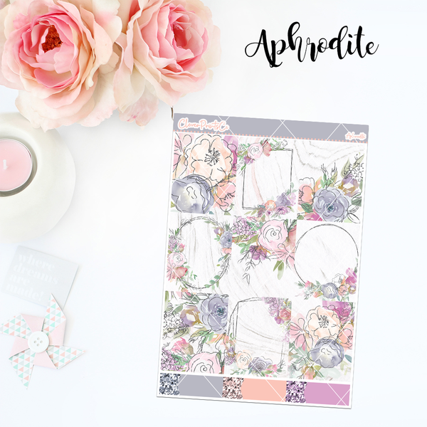 Standard Vertical Weekly Kit MINI  - Aphrodite