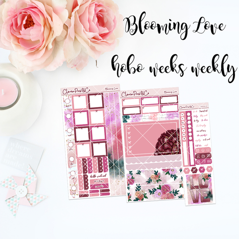 HOBONICHI Weeks Weekly Kit - Blooming Love