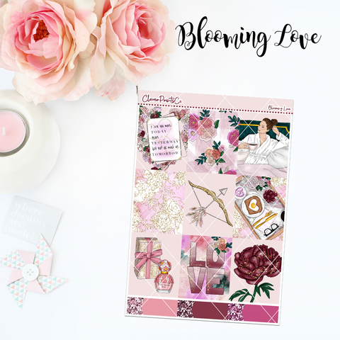 Standard Vertical Weekly Kit FULL - Blooming Love