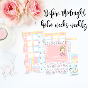 HOBONICHI Weeks Weekly Kit - Before Midnight