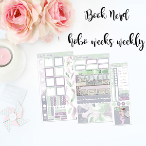 HOBONICHI Weeks Weekly Kit - Book Nerd
