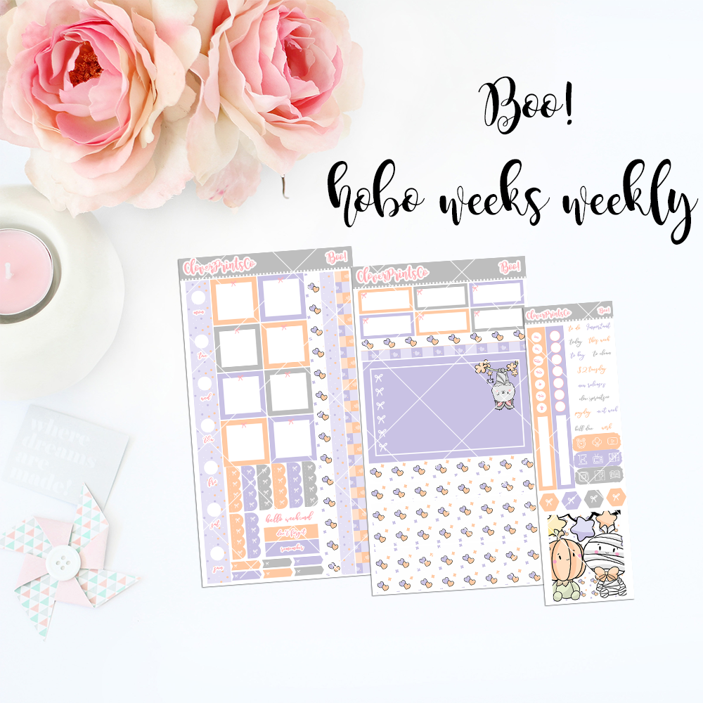 HOBONICHI Weeks Weekly Kit - Boo!