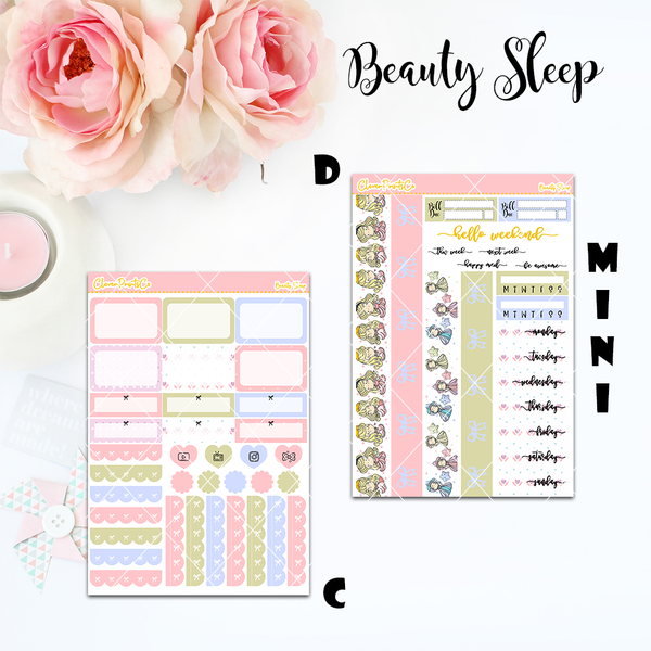 Standard Vertical Weekly Kit MINI  - Beauty Sleep