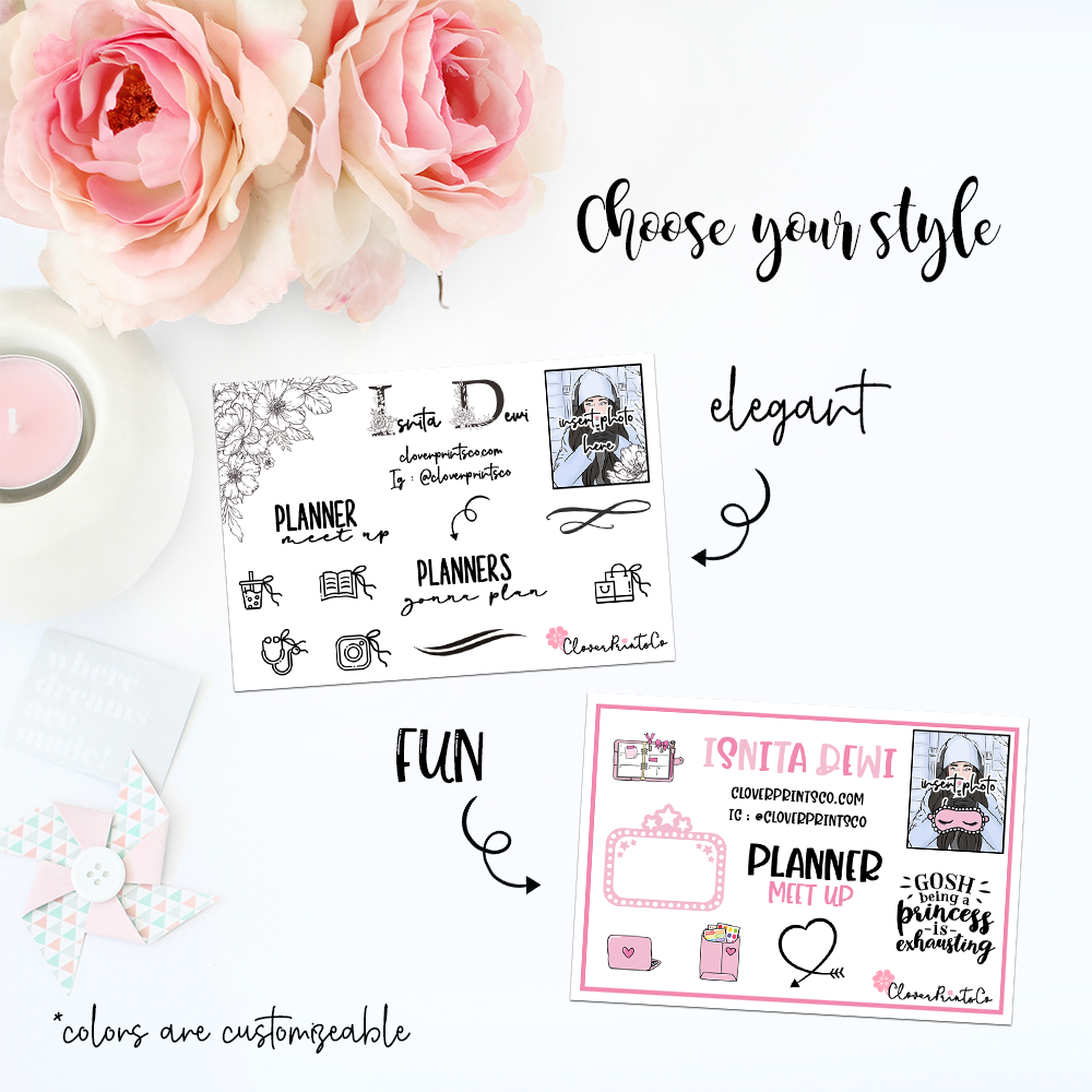 Custom Contact Card For Planner Event