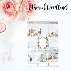 Standard Vertical Weekly Kit MINI  - Ethereal Woodland