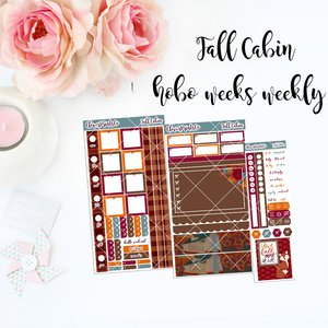 HOBONICHI Weeks Weekly Kit - Fall Cabin