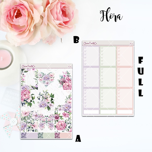 Standard Vertical Weekly Kit FULL - Flora