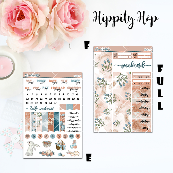 Standard Vertical Weekly Kit FULL - Hippity Hop
