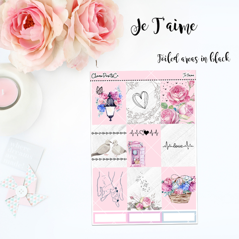 BUNDLE FOILED Je T'aime Collection
