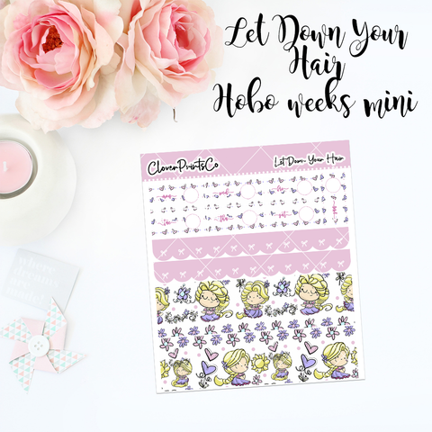 HOBONICHI Weeks Weekly Kit Mini - Let Down Your Hair
