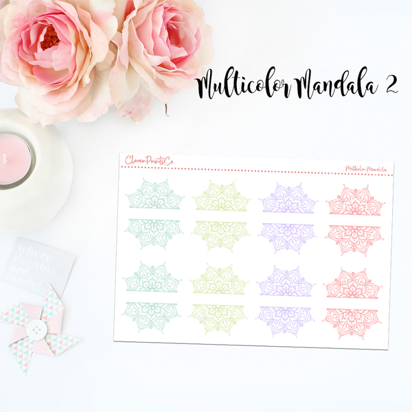FUNCTIONAL - Multicolor Mandala Series (Design 1-4)