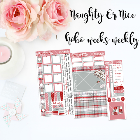 HOBONICHI Weeks Weekly Kit - Naughty Or Nice