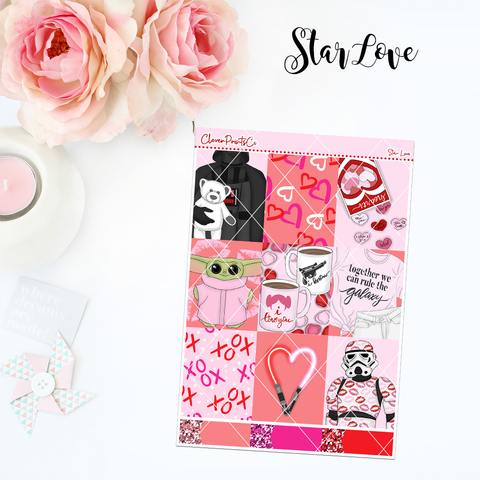 Standard Vertical Weekly Kit FULL - Star Love